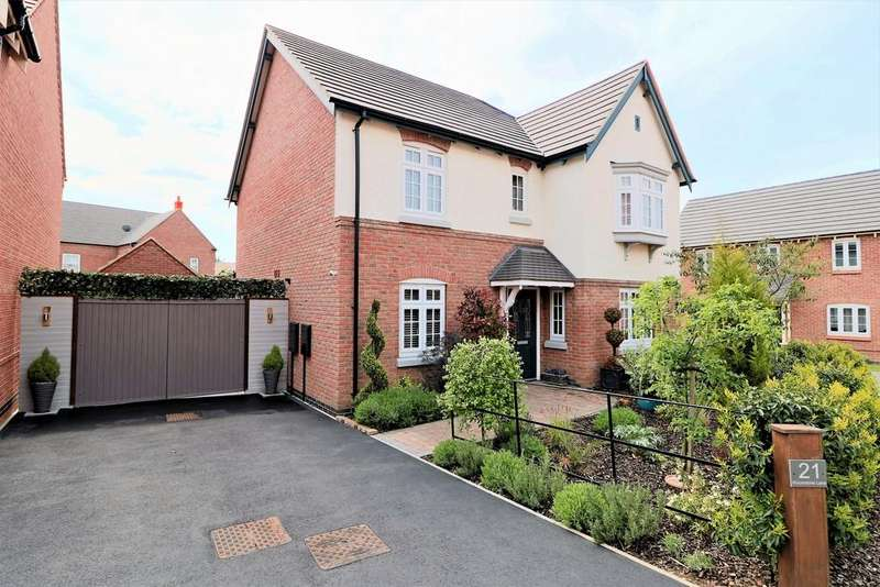 4 Bedrooms Detached House for sale in Woodstone Lane, Ravenstone