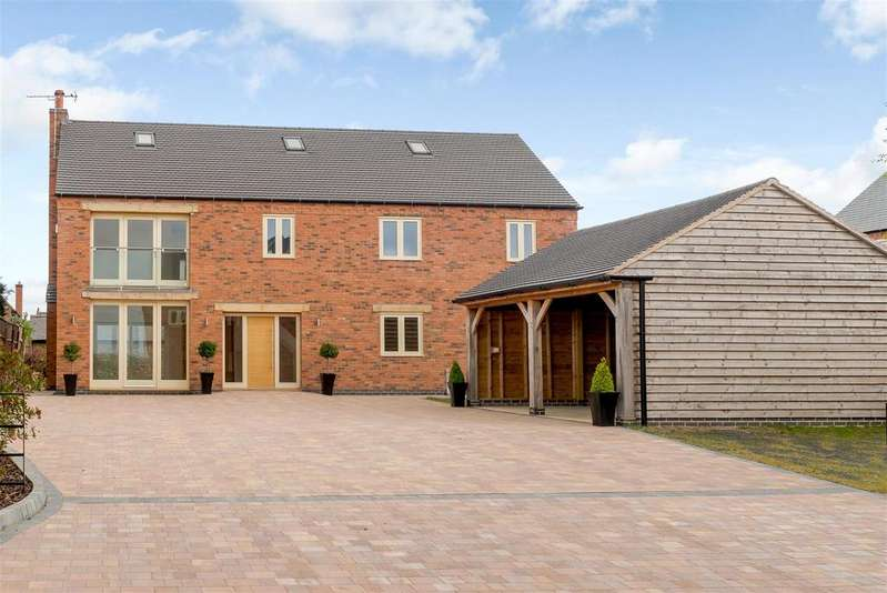 5 Bedrooms Detached House for sale in Cooks Lane, Sapcote, Leicestershire