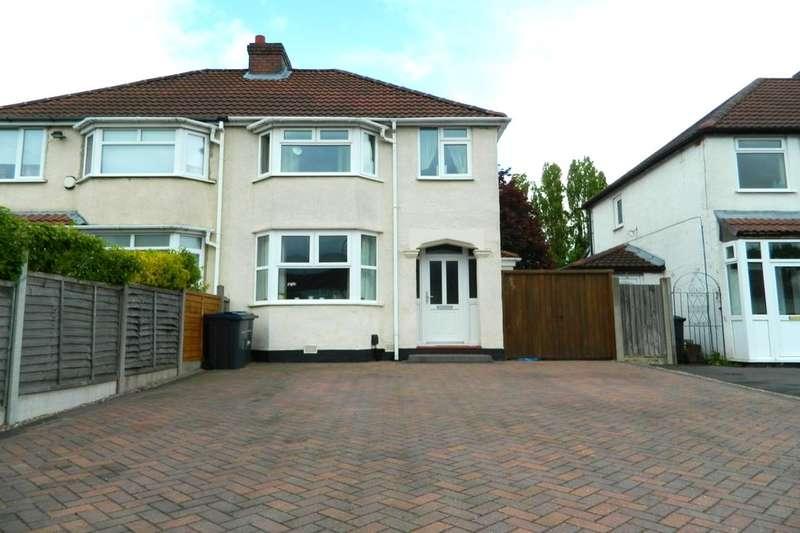 3 Bedrooms Semi Detached House for sale in Mackadown Lane, Tile Cross, Birmingham, B33