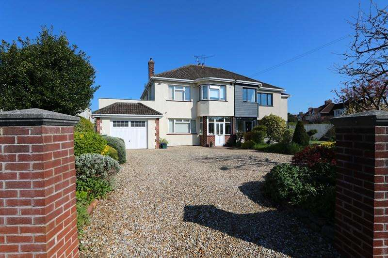 4 Bedrooms Semi Detached House for sale in Beech Road, Saltford, Bristol
