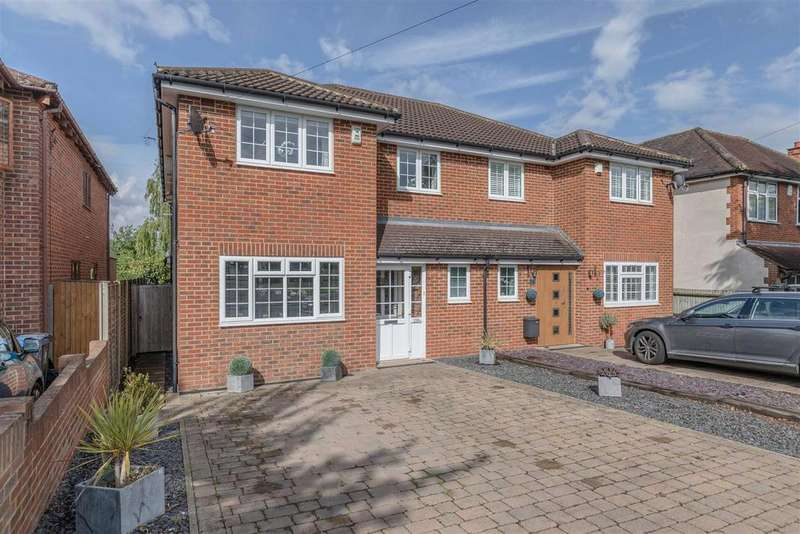 4 Bedrooms Semi Detached House for sale in Clewer Hill Road, Windsor