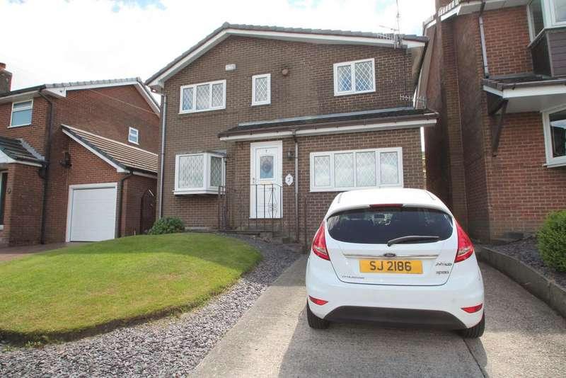 3 Bedrooms Detached House for sale in Hillside Ave, Stalybridge, Cheshire SK15