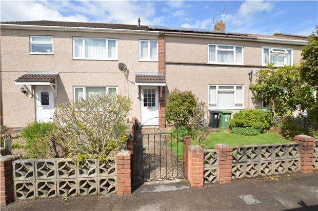 3 Bedrooms Terraced House for sale in St. Briavels Drive, Yate, BRISTOL, BS37 4HP