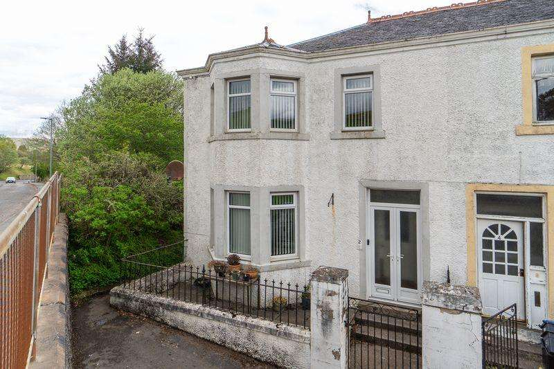 3 Bedrooms Semi-detached Villa House for sale in 2 Castle Road, Dalmellington, KA6 7RA