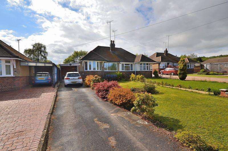 3 Bedrooms Semi Detached Bungalow for sale in Golden Riddy, Linslade