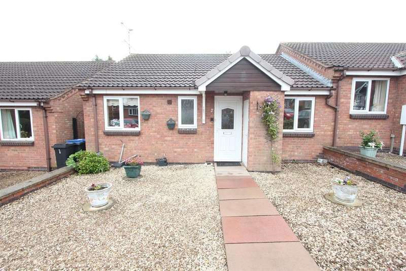 2 Bedrooms Semi Detached Bungalow for sale in Coniston Court, Earl Shilton
