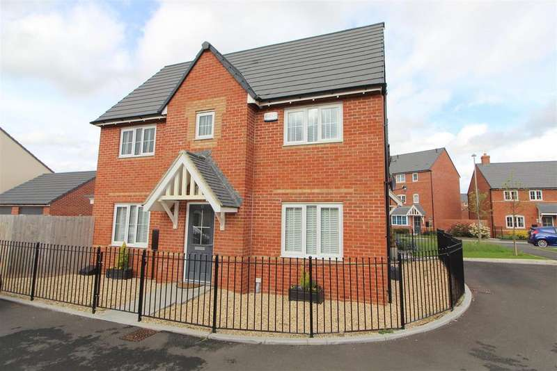 3 Bedrooms End Of Terrace House for sale in Oswalds Close, Longford, Gloucester