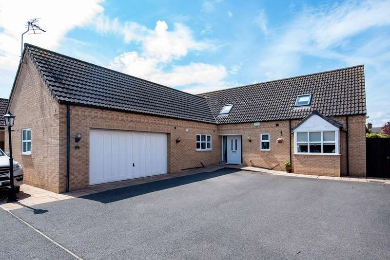 4 Bedrooms Detached Bungalow for sale in Pullman Court, Spalding, PE11