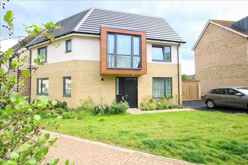 4 Bedrooms Detached House for sale in Endeavour Way, Colchester