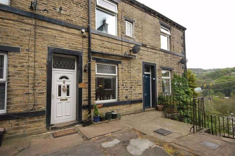 2 Bedrooms Terraced House for sale in Back Lane, Ripponden, Halifax, HX6