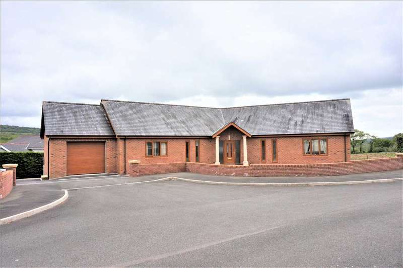 4 Bedrooms Detached Bungalow for sale in Golwg Y Cwm, Heol Cwmbach, DREFACH, Llanelli