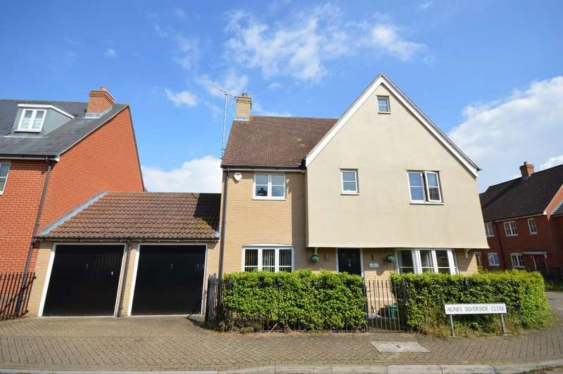 4 Bedrooms Detached House for sale in Agnes Silverside Close, Colchester