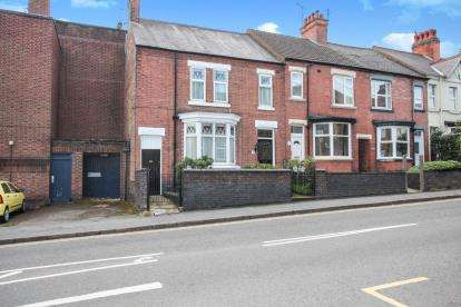 4 Bedrooms Terraced House for sale in Hollycroft, Hinckley, Leicestershire, .