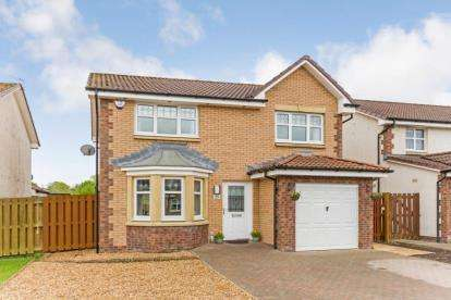 3 Bedrooms Detached House for sale in Toftcombs Crescent, Stonehouse, Larkhall, South Lanarkshire