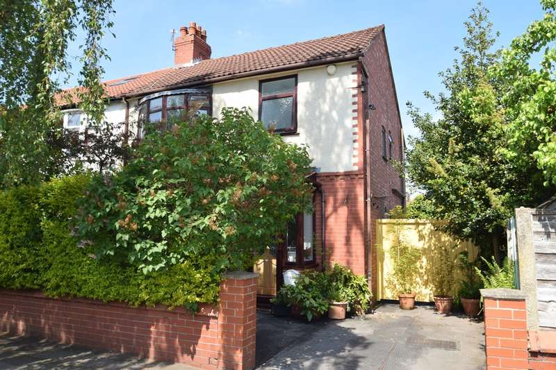 3 Bedrooms Semi Detached House for sale in Cambridge Road, Gatley