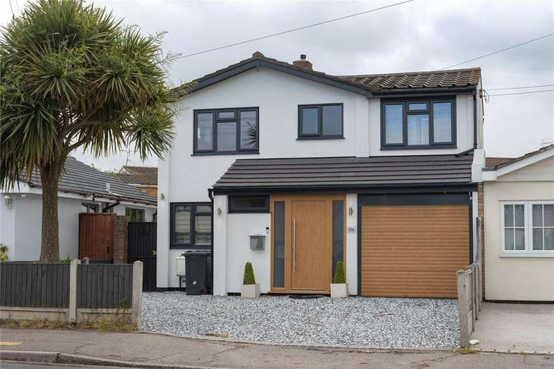 4 Bedrooms Link Detached House for sale in Church Road, Benfleet, Essex, SS7