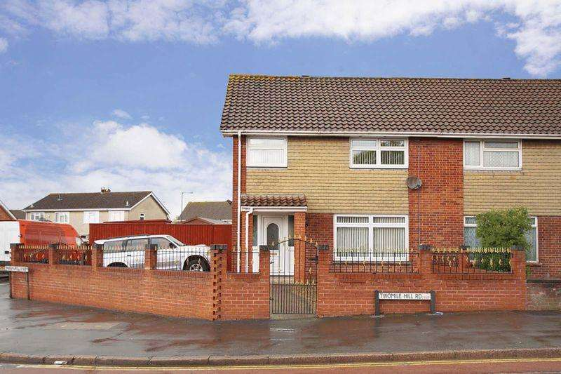 3 Bedrooms Semi Detached House for sale in Two Mile Hill Road, Bristol, BS15 1BS