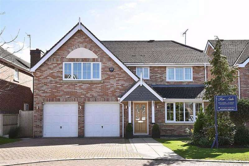5 Bedrooms Detached House for sale in Redshank Drive, Tytherington, Macclesfield