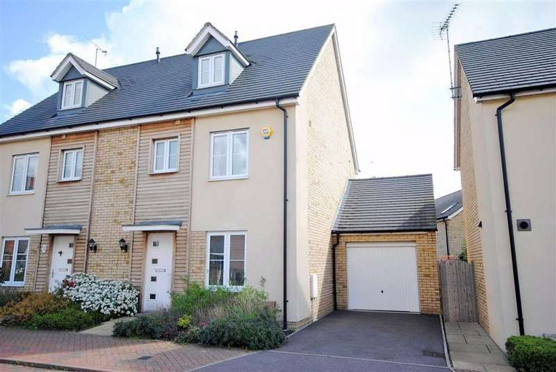 4 Bedrooms Semi Detached House for sale in Grebe Drive, Leighton Buzzard
