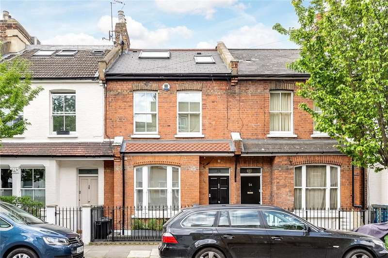4 Bedrooms Terraced House for sale in Kinnoul Road, London