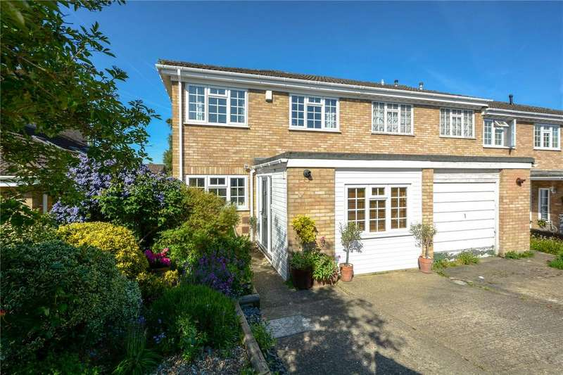 3 Bedrooms End Of Terrace House for sale in The Spinney, Finchampstead, Wokingham, Berkshire, RG40