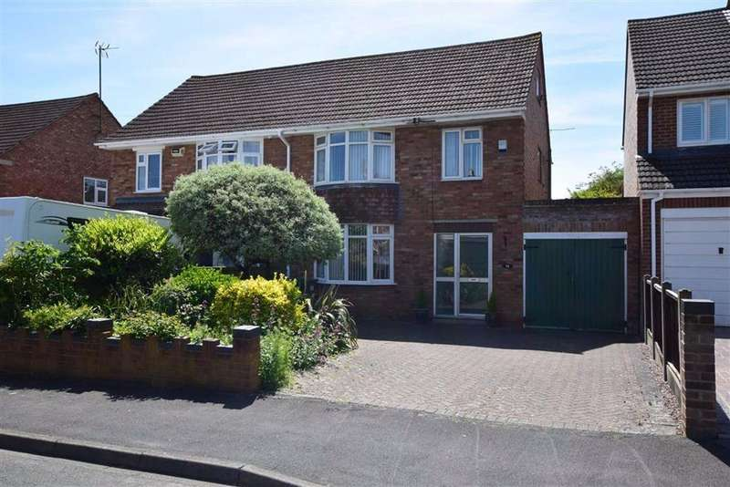 3 Bedrooms Semi Detached House for sale in Simmonds Road, Hucclecote., Gloucester