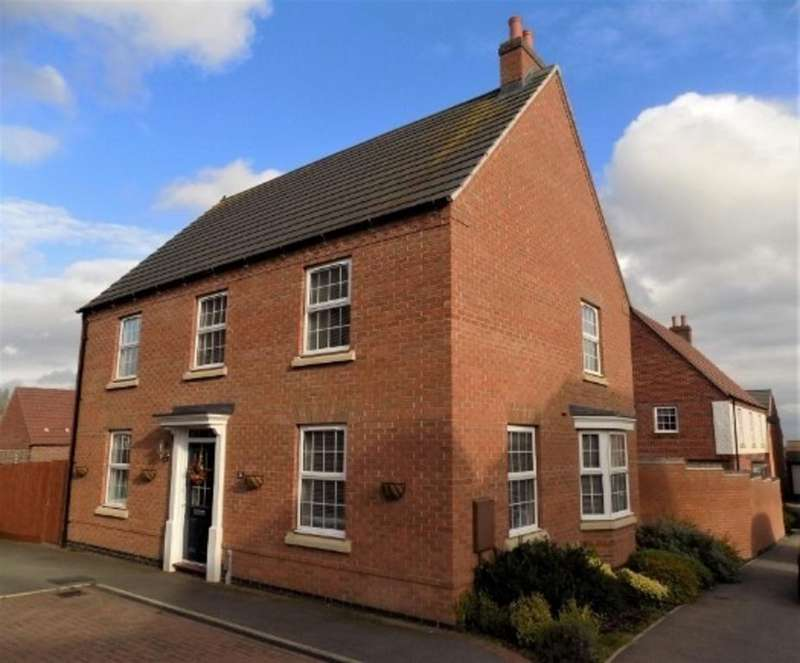 4 Bedrooms Detached House for sale in Amsterdam Drive, Hinckley