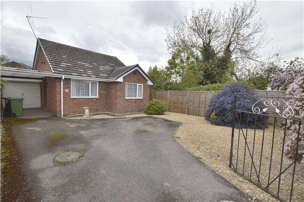 2 Bedrooms Detached Bungalow for sale in Wessex Drive, CHELTENHAM, Gloucestershire, GL52 5AF