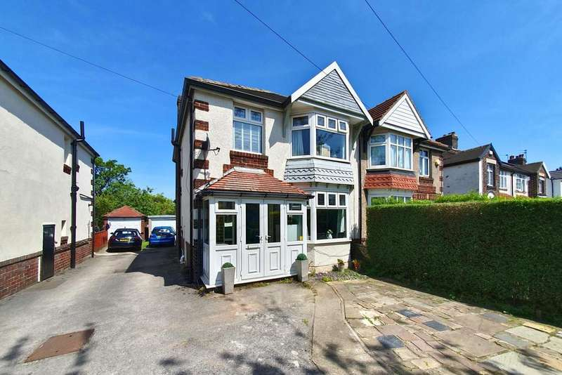 3 Bedrooms Semi Detached House for sale in Greenhill Avenue, Greenhill, Sheffield, S8 7TJ