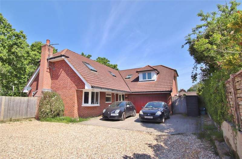 5 Bedrooms Detached House for sale in Glenwood Road, Verwood, BH31