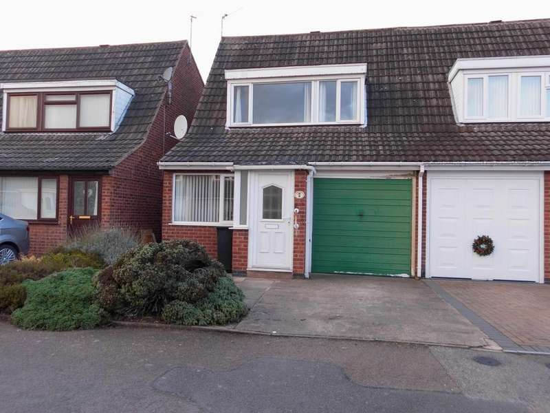 3 Bedrooms Semi Detached House for sale in Paul Drive Leicester