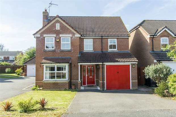 4 Bedrooms Detached House for sale in Wagtail Close, Fleckney, Leicester