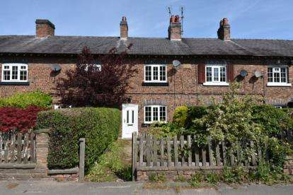 2 Bedrooms Terraced House for sale in Hawthorn View Cottages, Lindow End, Mobberley, Knutsford