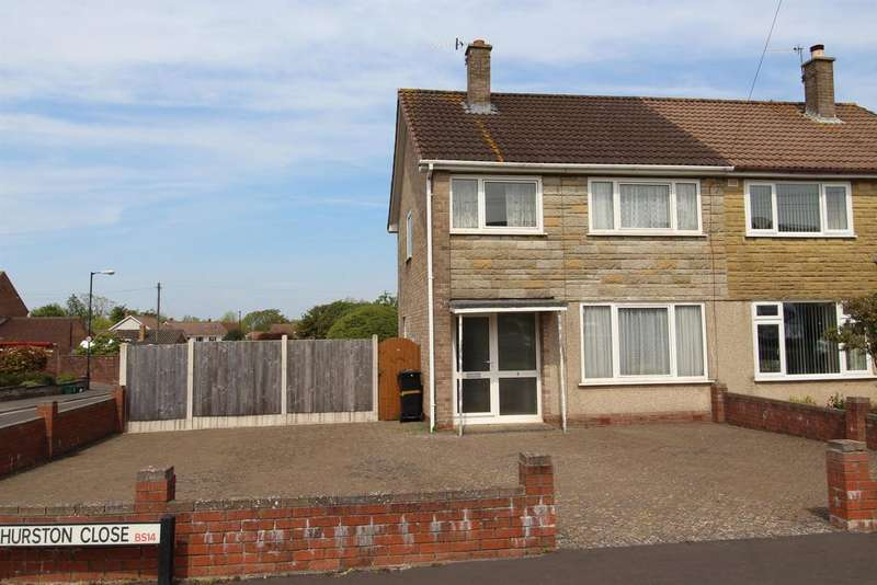 3 Bedrooms Semi Detached House for sale in Churston Close, Whitchurch, Bristol, BS14 0HX