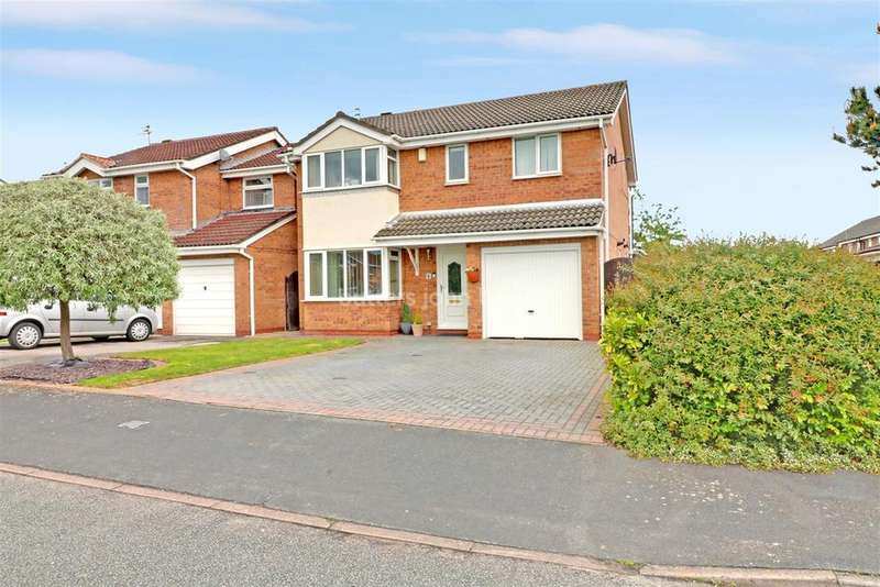 4 Bedrooms Detached House for sale in Eden Ave, Winsford