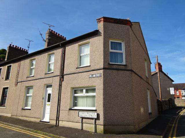 4 Bedrooms End Of Terrace House for sale in WILLIAM STREET, BANGOR LL57