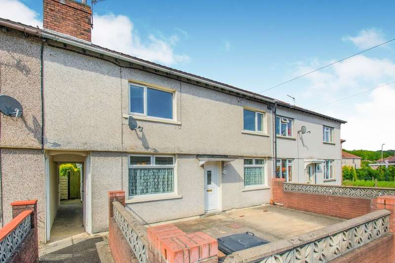 3 Bedrooms Terraced House for sale in Springfield Road, Risca, Newport
