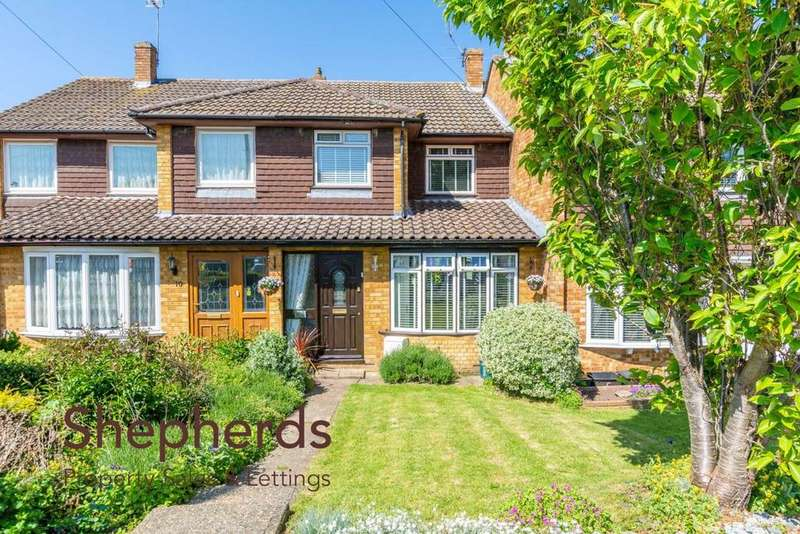 3 Bedrooms Terraced House for sale in Lilliards Close, Hoddesdon, Hertfordshire, EN11