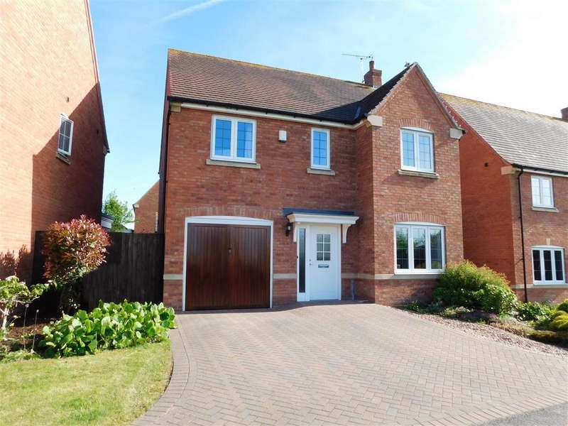 4 Bedrooms Detached House for sale in Paradise Close, Shepshed, Loughborough