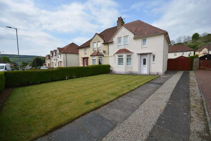 3 Bedrooms Semi Detached House for sale in Paterson Terrace, Darvel, KA17