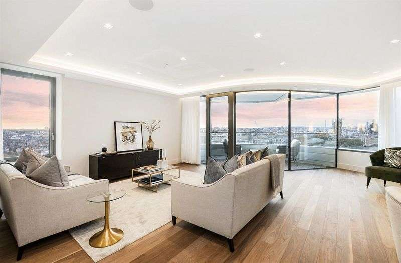 3 Bedrooms Property for sale in The Corniche, 23 Albert Embankment, London