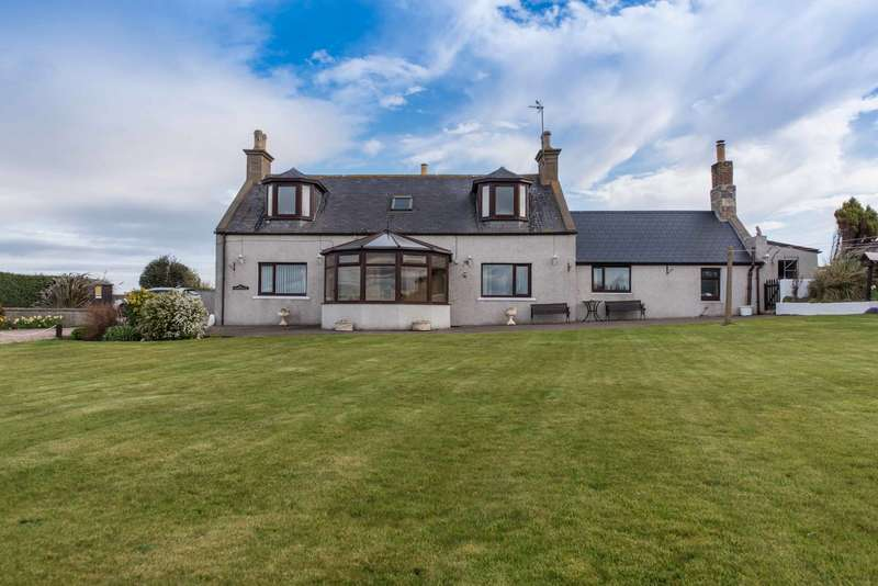 4 Bedrooms Detached House for sale in Sandend, Portsoy, Banff, Aberdeenshire, AB45 2TX