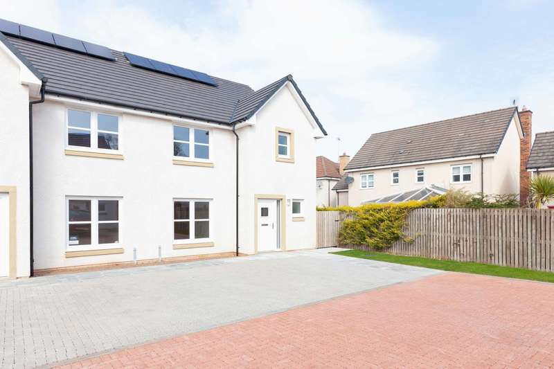 3 Bedrooms Semi Detached House for sale in Rotary Court, Dunbar, East Lothian, EH42 1YS