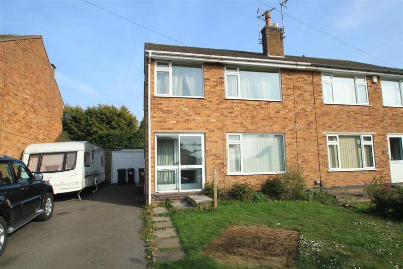 3 Bedrooms Semi Detached House for sale in Fairacre Road, Barwell