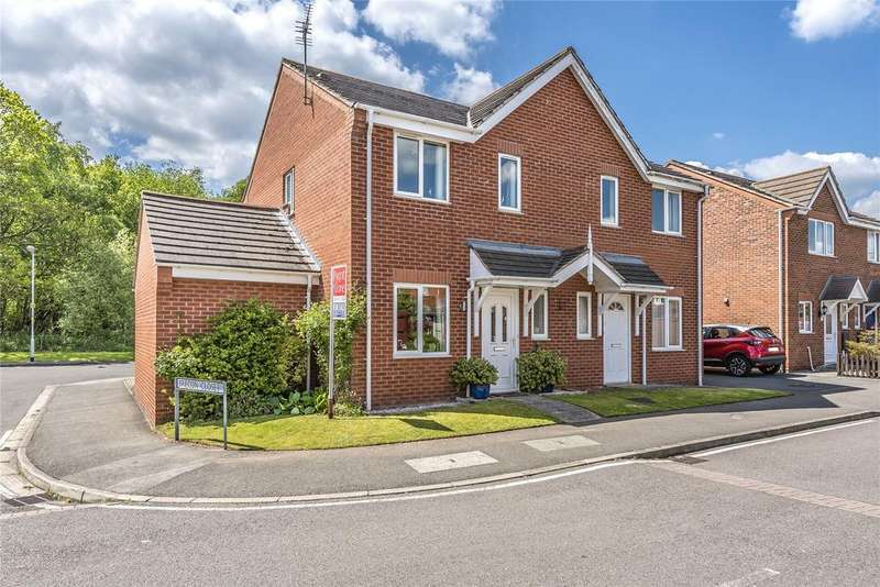 3 Bedrooms Semi Detached House for sale in Wentworth Way, Doddington Park, LN6