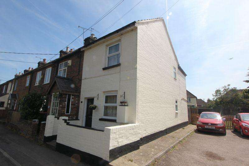 2 Bedrooms End Of Terrace House for sale in Luton Road, Caddington.