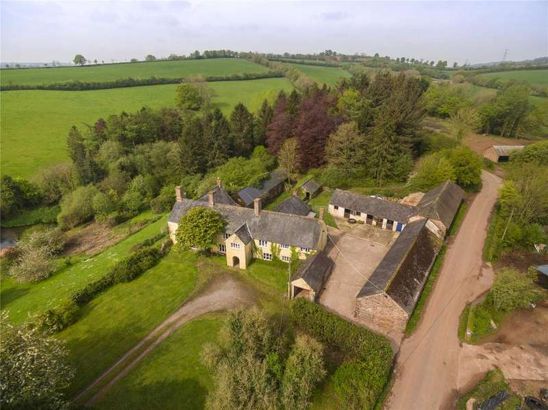 7 Bedrooms Unique Property for sale in Kittisford, Wellington, Somerset, TA21