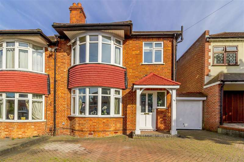 3 Bedrooms Semi Detached House for sale in Montbelle Road, London, SE9 3PB