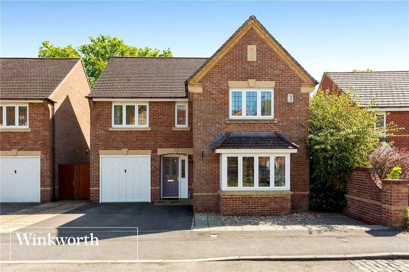 4 Bedrooms Detached House for sale in Spring Gardens, Newbury, Berkshire, RG20