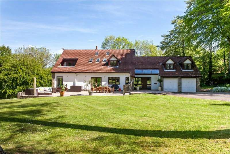 5 Bedrooms Detached House for sale in Cadbury Camp Lane, Clapton in Gordano, Bristol, BS20